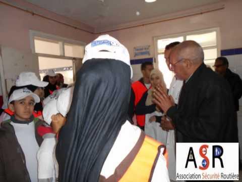 جمعية السلامة الطرقية ت- ث و مندوبية الصحة ابن امسيك      FSER 5
