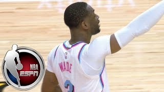 Dwyane Wade gets standing ovation in first game back with Miami Heat | ESPN