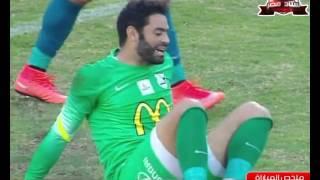ملخص مباراة المصري 4 - 0 إنبي في الجولة الـ 20 من الدوري المصري