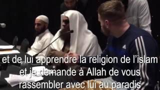 Conversion à l'Islam devant Sheikh Souhaymi à Luton