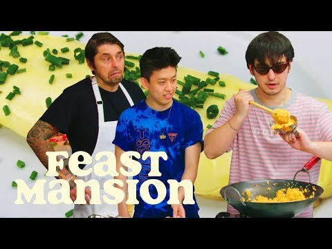 Xxx Mp4 Joji And Rich Brian Get An Omelette Master Class From A French Chef Feast Mansion 3gp Sex