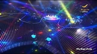 الأغنية الجماعية ادهم نابلسي عمري كلو والمتسابقين في برنامج Xfactor