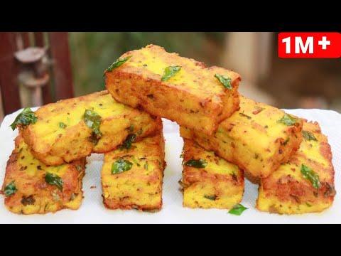 आलू और बेसन की क्रिस्पी और नया नाश्ता की आसान रेसिपी Aloo Snacks Breakfast Recipes Aloo ka Nasta