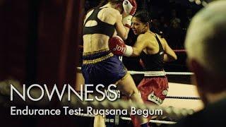 Britain's First Female Muslim Kickboxing Champion