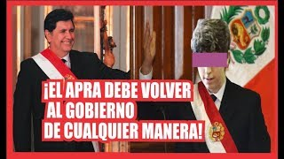 EL hijo menor de Alan García se afilia al APRA Y dice que debe volver al poder de cualquier manera