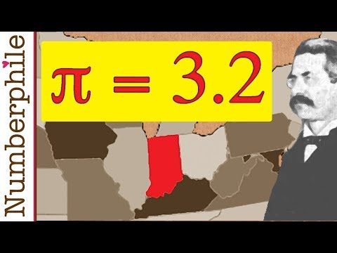 How Pi was nearly changed to 3.2 Numberphile
