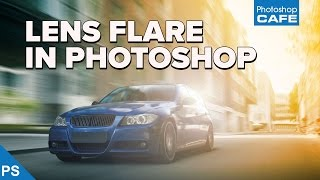 The TRICK to making REALISTIC LENS FLARES in PHOTOSHOP