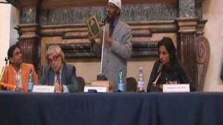 Zakir Naik Rome,Italy Part 3(Vatican City, American Centre)