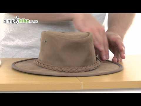 Barmah Foldaway Bronco Hat - www.simplyhike.co.uk