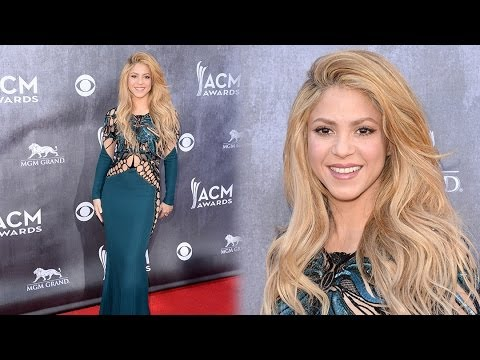 Xxx Mp4 Shakira Shows Off Figure At The 2014 ACM Awards 3gp Sex