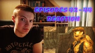 RED VS BLUE: SEASON 3 EPISODES (42 - 44) - REACTION