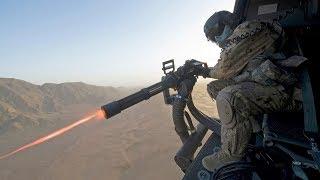 Impressively Powerful M134 Minigun [GAU-17 Gatling Gun] & GAU-21 in Action