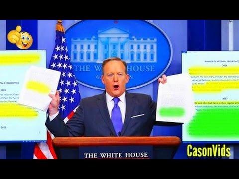 Sean Spicer HEATED Press Conferences So Far 2 12 2017 Best sean spicer press briefings