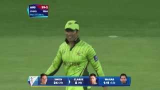 QF 3: AUS vs PAK: Pak fight back, Aus lose 3 wickets. Watch ICC World Cup videos on starsports.com