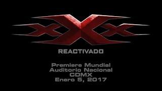 xXx: Reactivado - Vin Diesel y el elenco estarán en la premiere mundial en el Auditorio Nacional