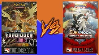WW: Pokemon Prerelease Kit Battle! Forbidden Light Vs. Crimson Invasion