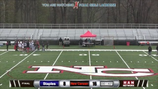 HAN Sports: Staples at New Canaan Girls Lacrosse 4.25.17