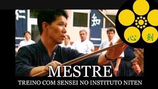 Mestre - Treino com Sensei no Instituto Niten