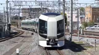 東武鉄道新型特急500系「リバティ」東武アーバンパークライン試運転