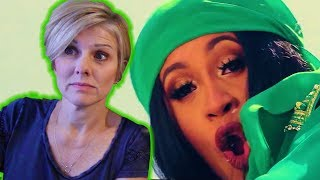 Mom REACTS to Cardi B - Bodak Yellow [OFFICIAL MUSIC VIDEO]