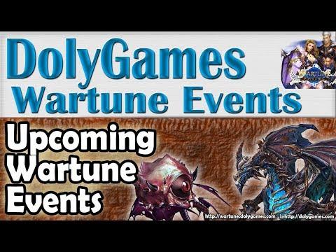 Wartune Events 5 OCT 2018 (Rave, Crianza, Cast Relic)