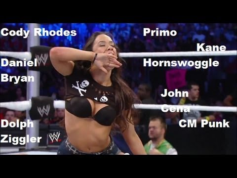 Xxx Mp4 All The Guys AJ Lee Has Kissed In The WWE 2010 2012 3gp Sex