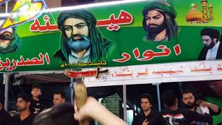 موكب سيد البطحاء ابي طالب ع في ميسان القطاع شارع المدارس