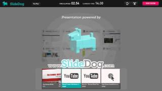 The Human Body using SlideDog