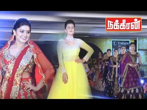 Tamil Actress in Madras Fashion Show | Sneha | Nikki Galrani | Sanchita Shetty