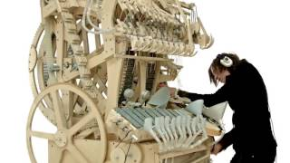 10h hours non stop loop Wintergatan   Marble Machine music instrument using 2000 marbles 10 hours