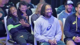 Marc Lottering and friends surprise Blitzboks