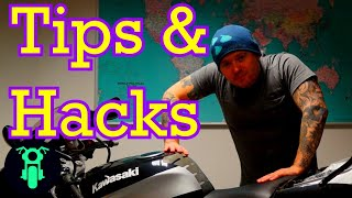 Motorcycle Tips and Hacks