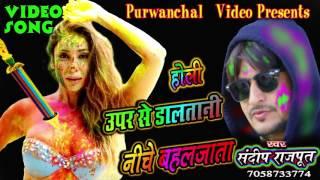 ऊपर से डालतानी नीचे बहल जाता / Bhojpuri Holi Video Song / Bhojpuri Hot Holi song / Sandeep Rajput