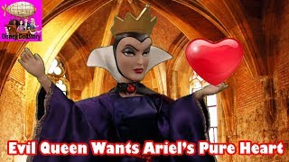 Evil Queen Kidnaps Ariel and Takes Her Heart - Part 20 - Elsa the Mermaid Series - Frozen