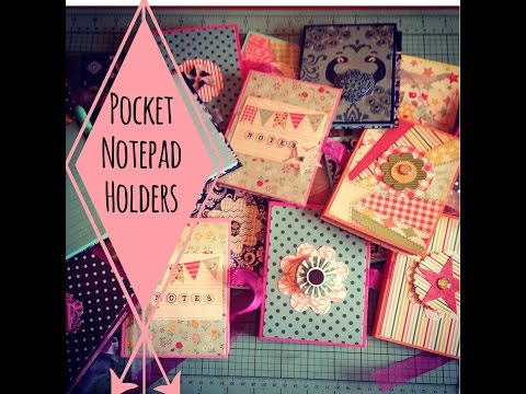 Xxx Mp4 Craft Fair Idea 3 Pocket Notepad Holders With Tutorial 2015 3gp Sex