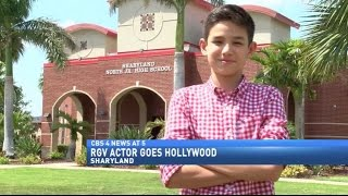 12-year-old Sharyland actor goes Hollywood
