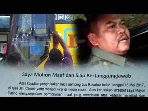 Setelah Videonya Viral, Begini Nasib TNI yang Pecahkan Kaca Bis di Tol Cikunir