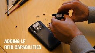 Handheld NAUTIZ X2: Adding LF RFID capabilities
