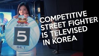Competitive Street Fighter Is Televised in Korea (자막 가능 CC 버튼 누르세요)