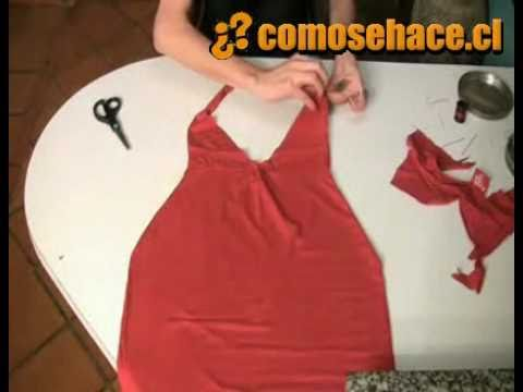 Como convertir una camisa en un vestido ♥ SUSCRIBETE