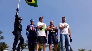 Rede Globo manipula video para prejudicar Bolsonaro e a policia.