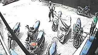 CCTV- Failed to steal motorcycle || funny moment 2015
