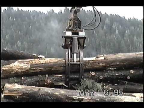 Craik Logging Waterfall Alaska