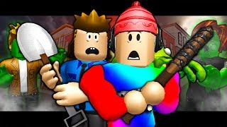 ZOMBIES TAKE OVER ROBLOX! (A Scary Roblox Horror MOVIE)