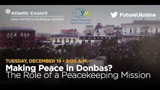 Making Peace in Donbas? The Role of a Peacekeeping Mission