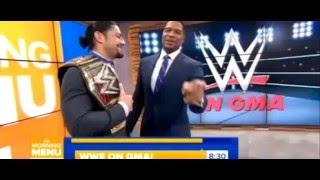 Roman Reigns & The Bella Twins on GMA