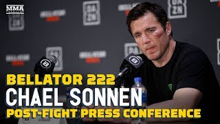 Chael Sonnen Talks Retirement After Bellator 222: 'I Fired my Last Bullet' - MMA Fighting