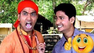 Aadmi ने किया Baba को Ungli | Mazedar Aadmi | Hindi Latest Comedy Jokes