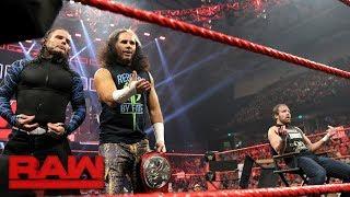 Dean Ambrose & The Hardy Boyz crash