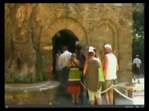 Veja a casa onde VIRGEM MARIA viveu depois da crucificação de Jesus Cristo. Éfeso na Turquia